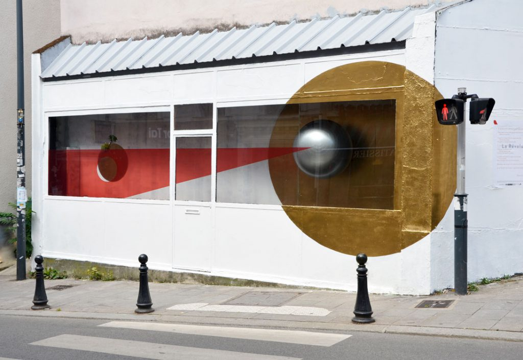 Photo Vitrophanie La Galerie Cendres