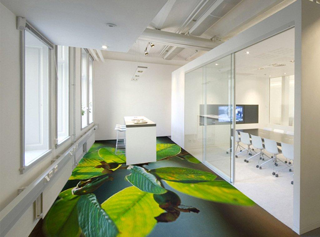 Photo stickers de sol pour bureaux