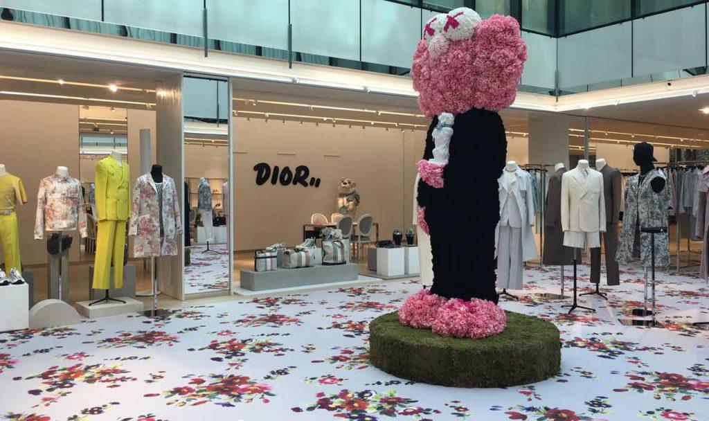 Photo d'une moquette pour Dior
